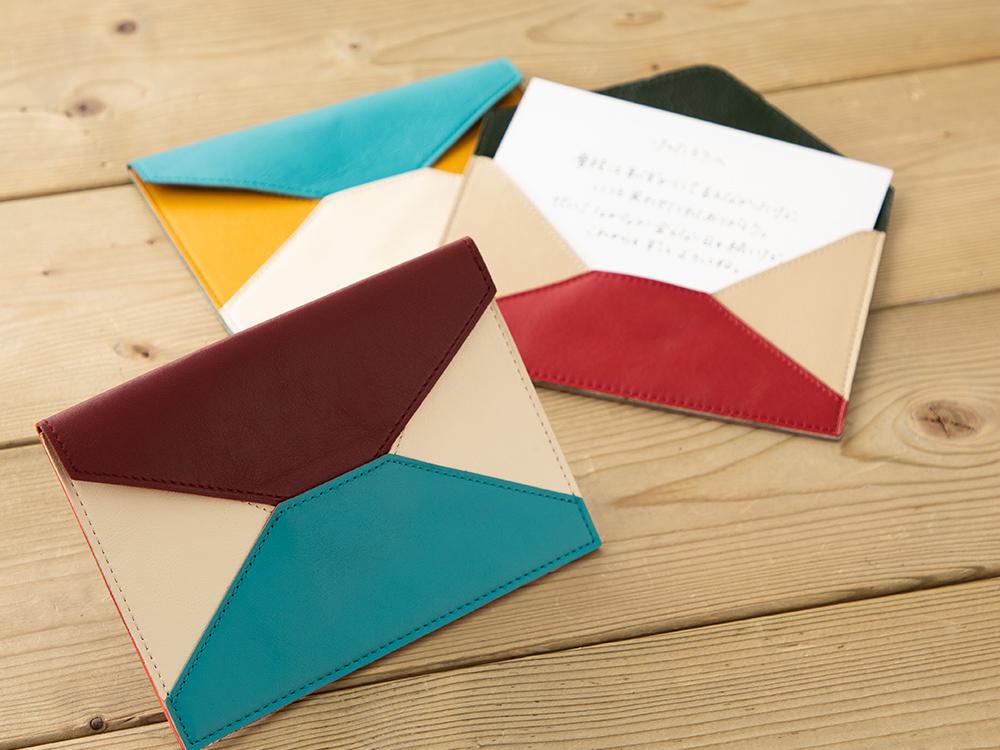革の封筒(A6)ギャラリー画像1